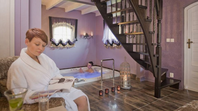 Orientalische Zweisamkeit / Pension Afrodyta Spa ***