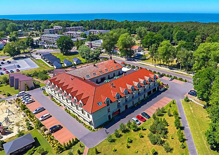 Entspannung pur an der Ostsee / Hotel Delfin Spa & Wellness****